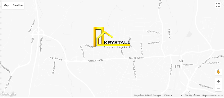 Krystall Byggservice map